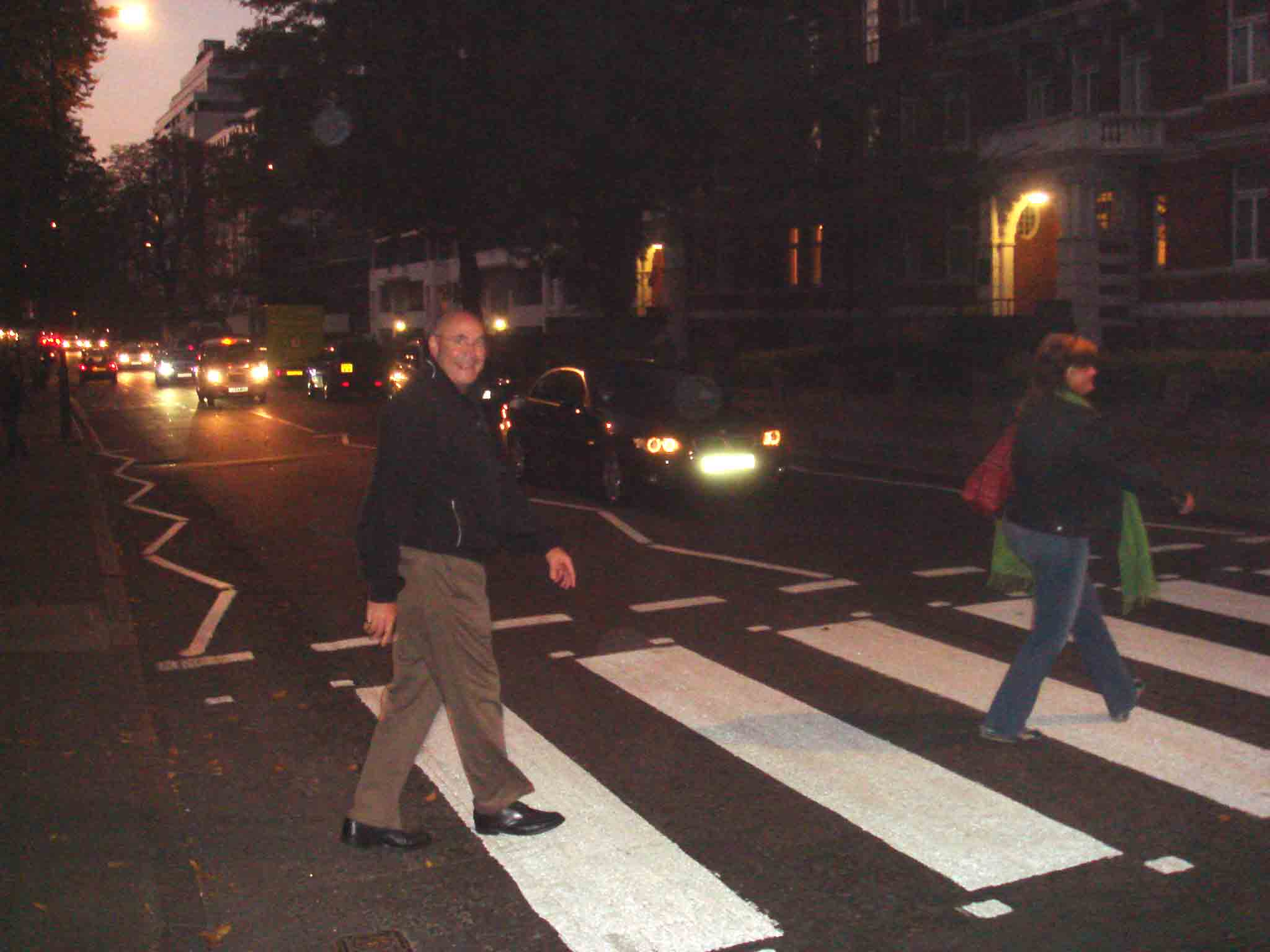 the most famous pedestrian crosswalk in the world